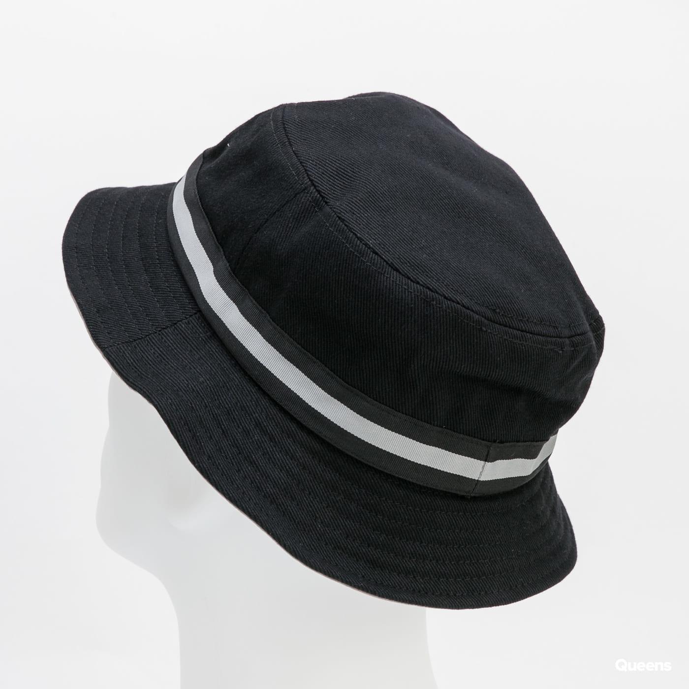 KANGOL Stripe Lahinch černý / šedý