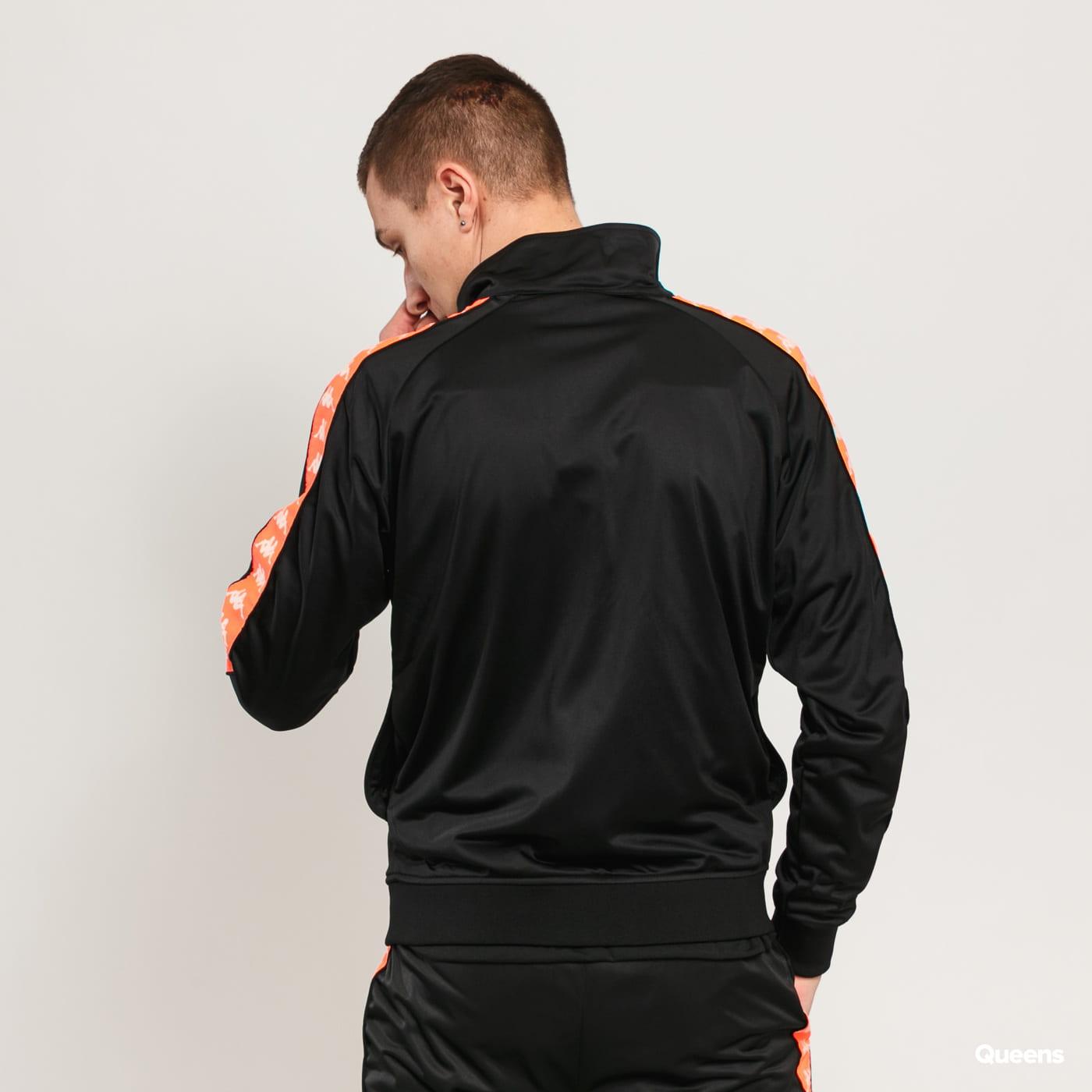 Kappa Banda Anniston Slim black / neon orange