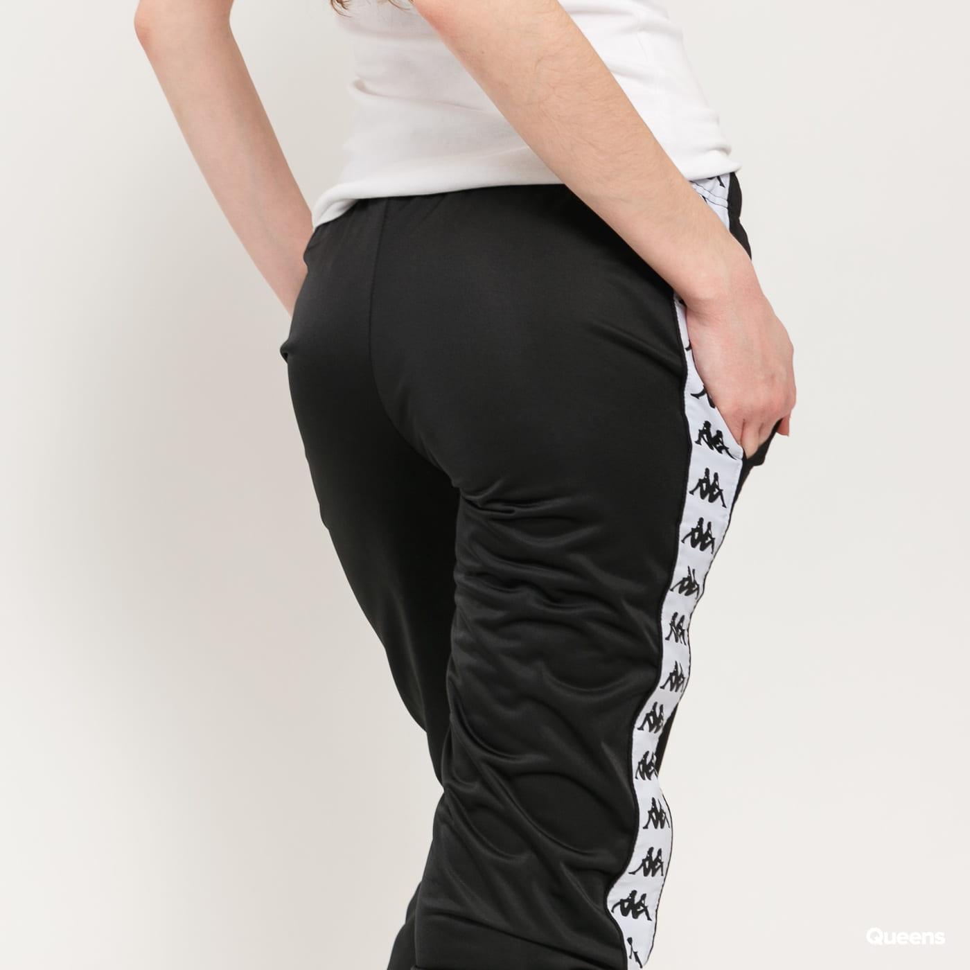 Kappa Banda Wrastoria Slim schwarz / weiß