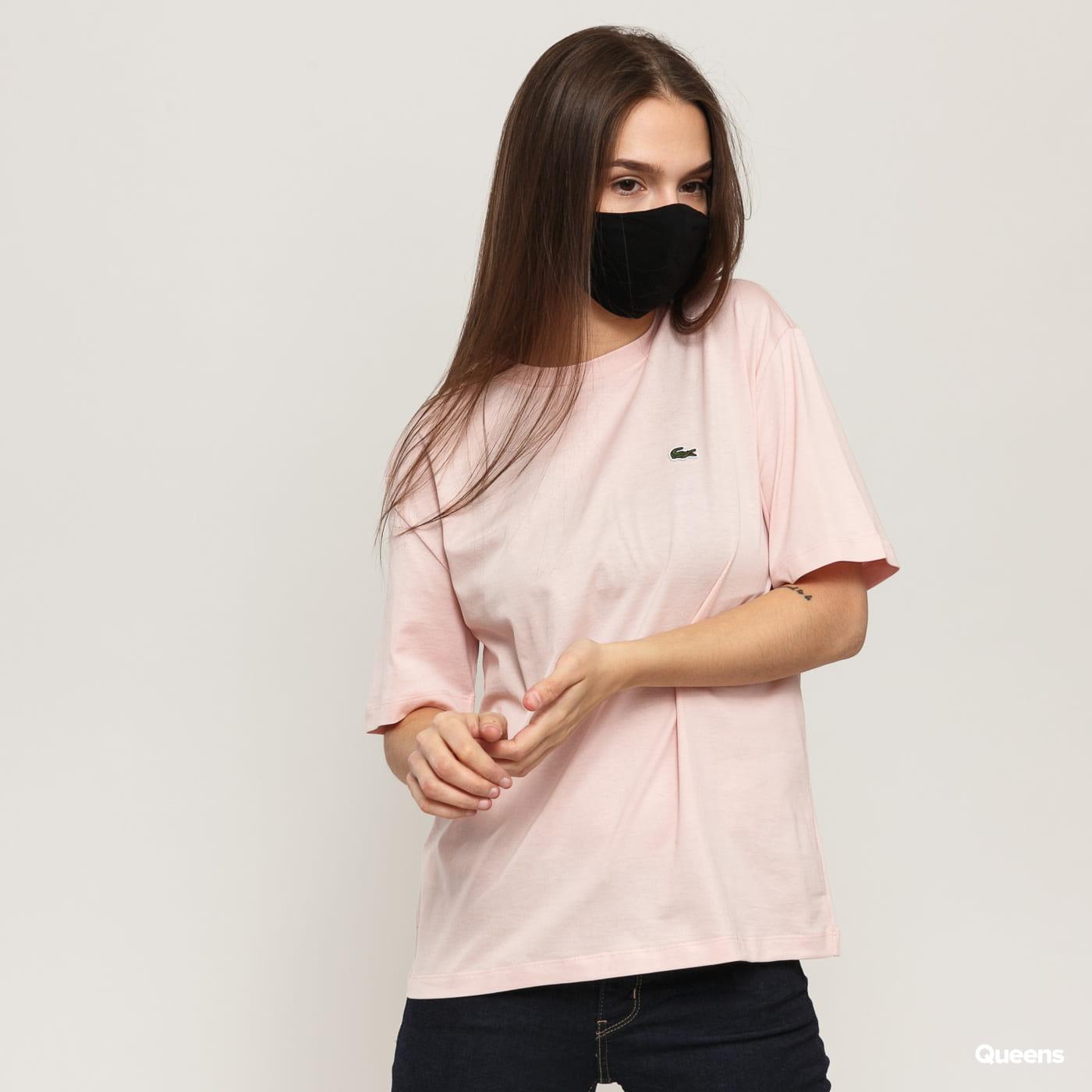 LACOSTE Women's T-Shirt light pink