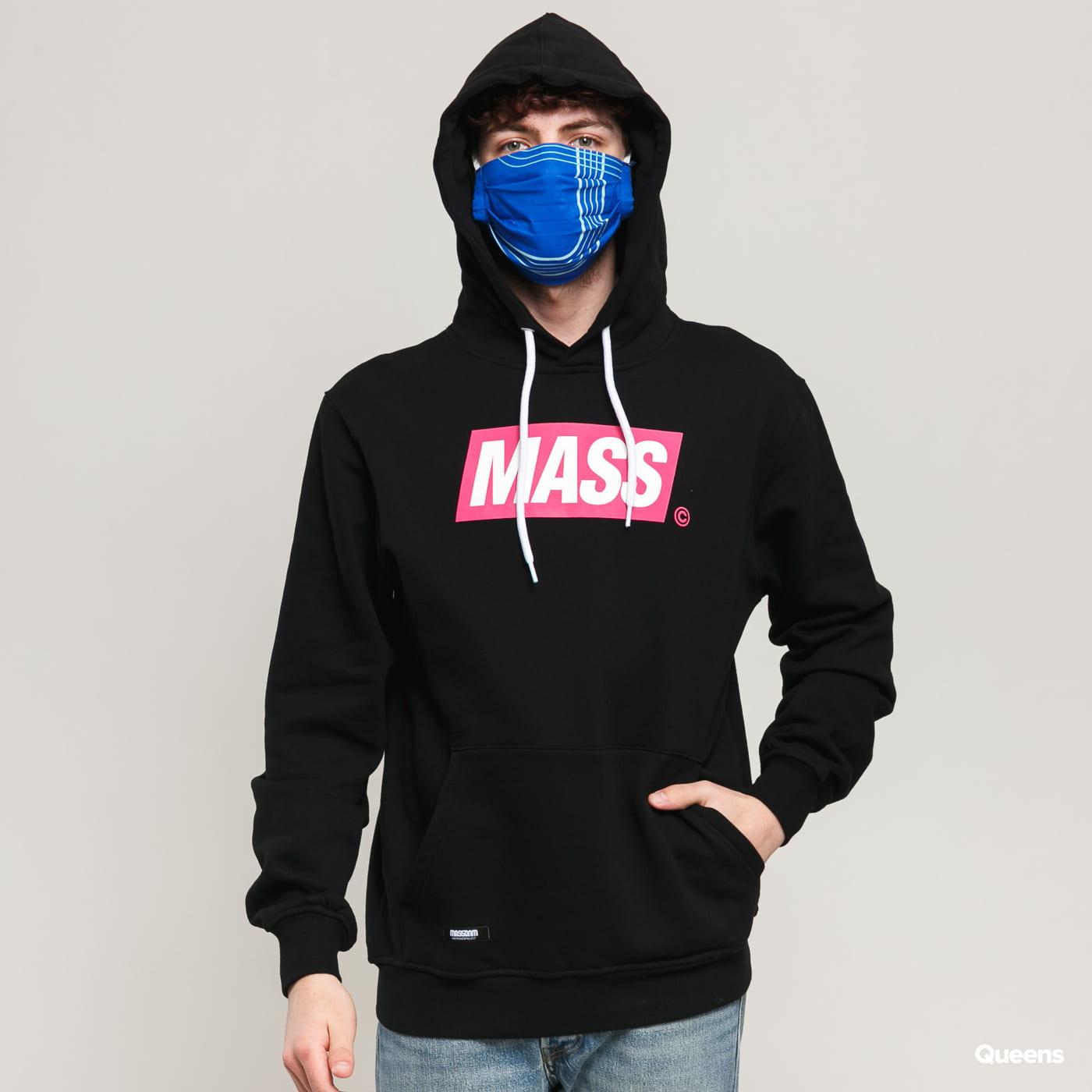 Mass DNM Big Box Hoody black