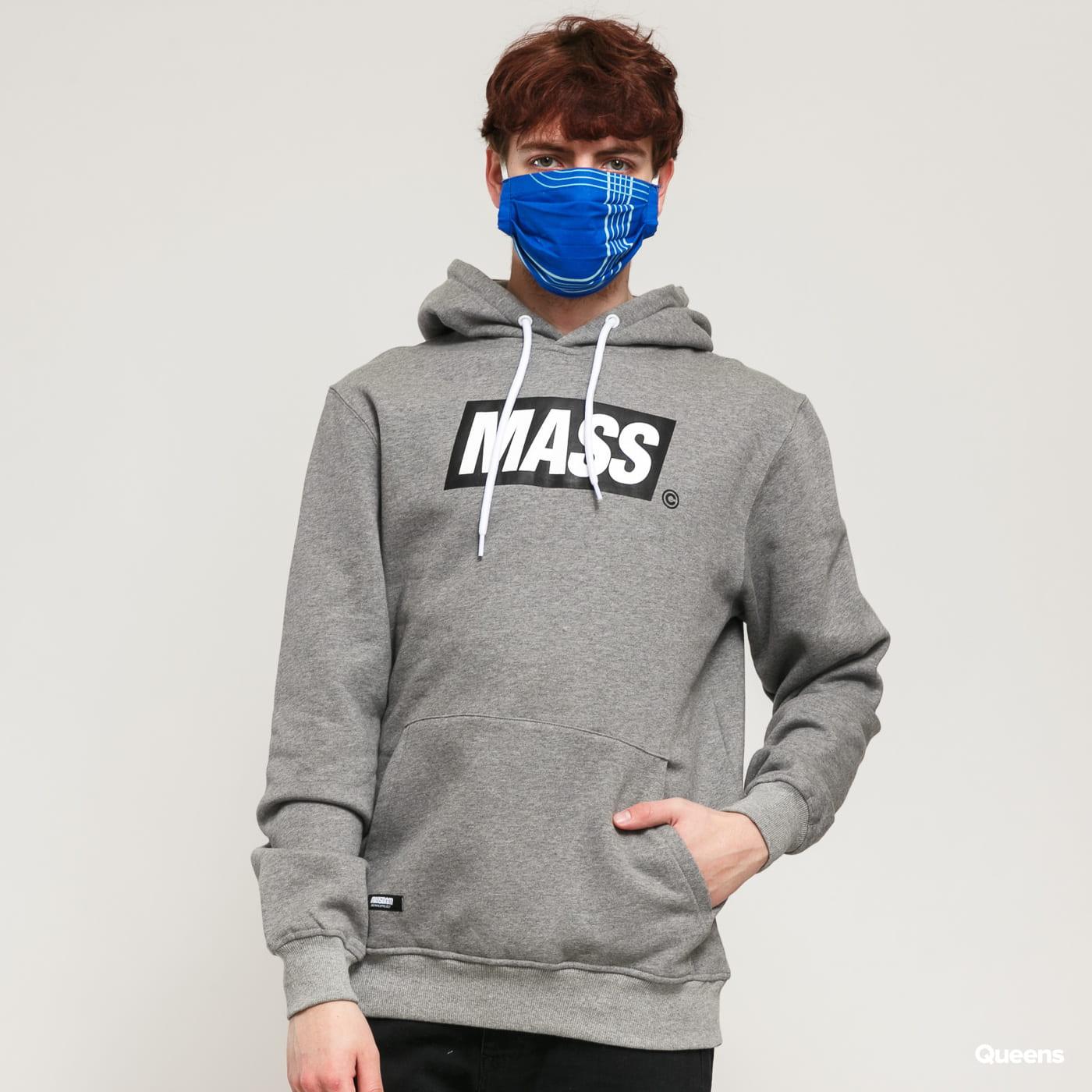 Mass DNM Big Box Hoody melange dark gray