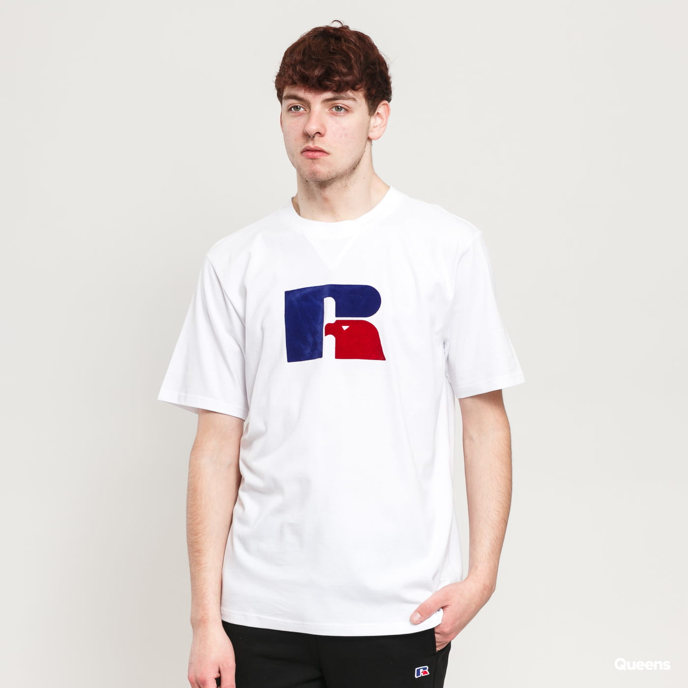 RUSSELL ATHLETIC Jerry T-Shirt blau / türkis