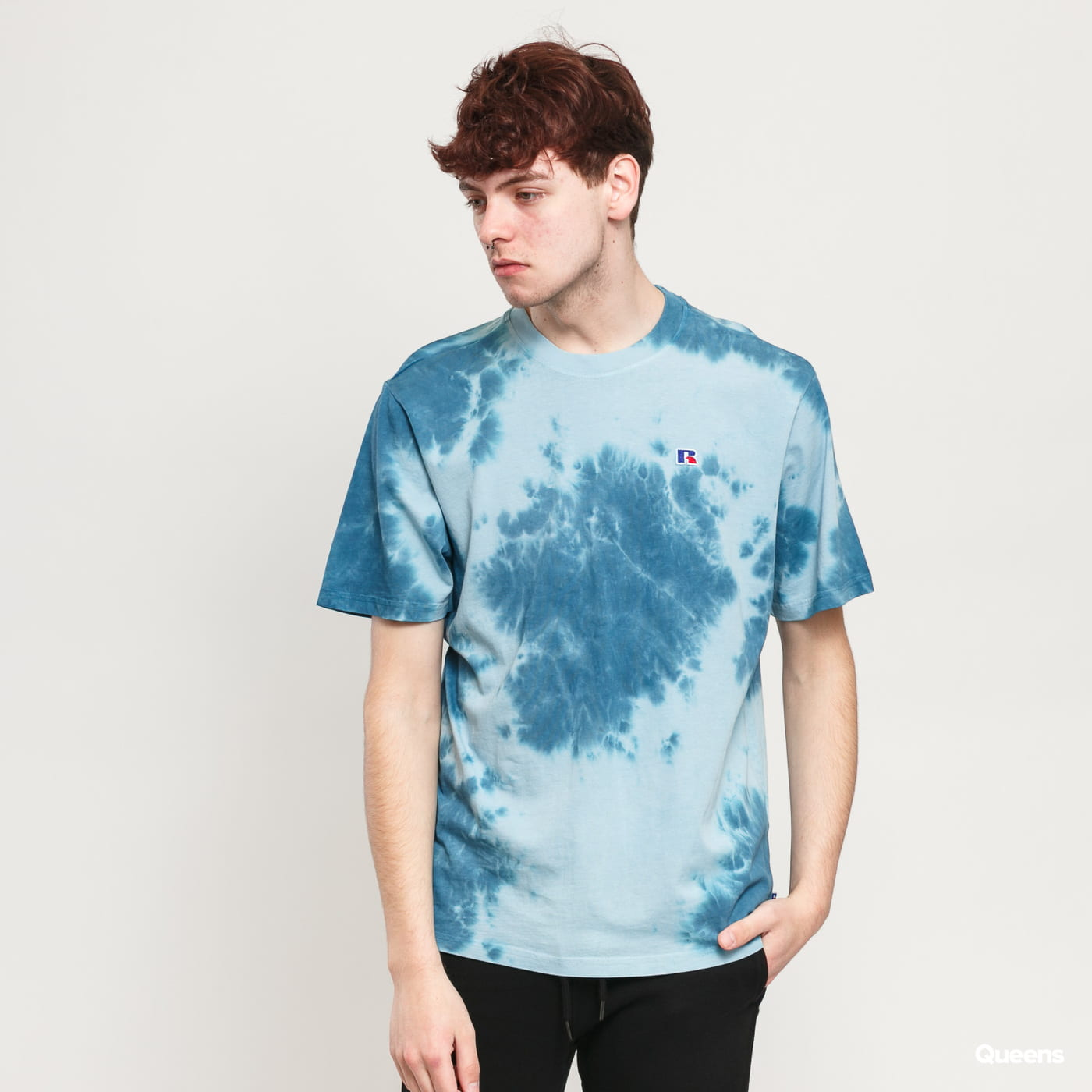 RUSSELL ATHLETIC Rock T-Shirt blue / navy
