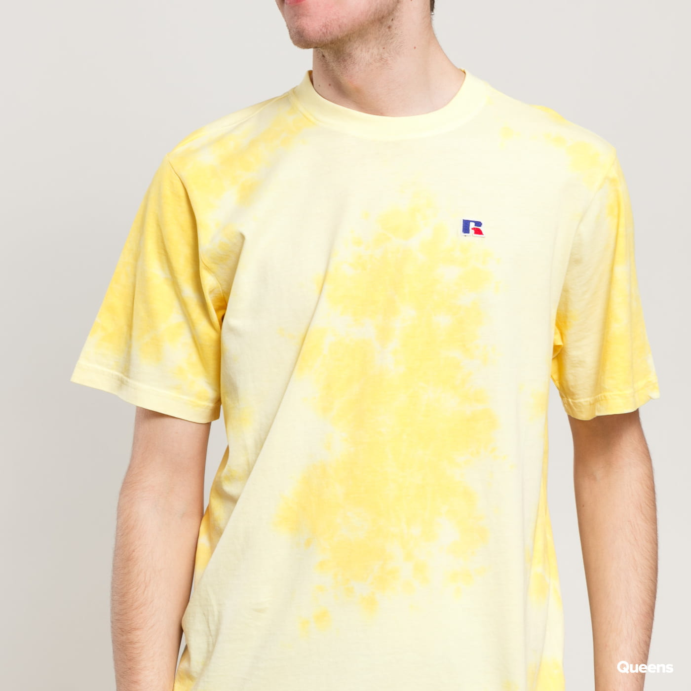 RUSSELL ATHLETIC Rock T-Shirt žlté