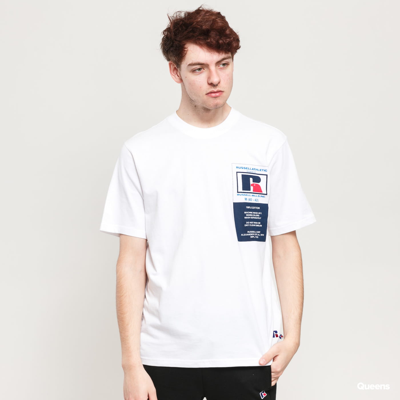RUSSELL ATHLETIC Scott T-Shirt biele