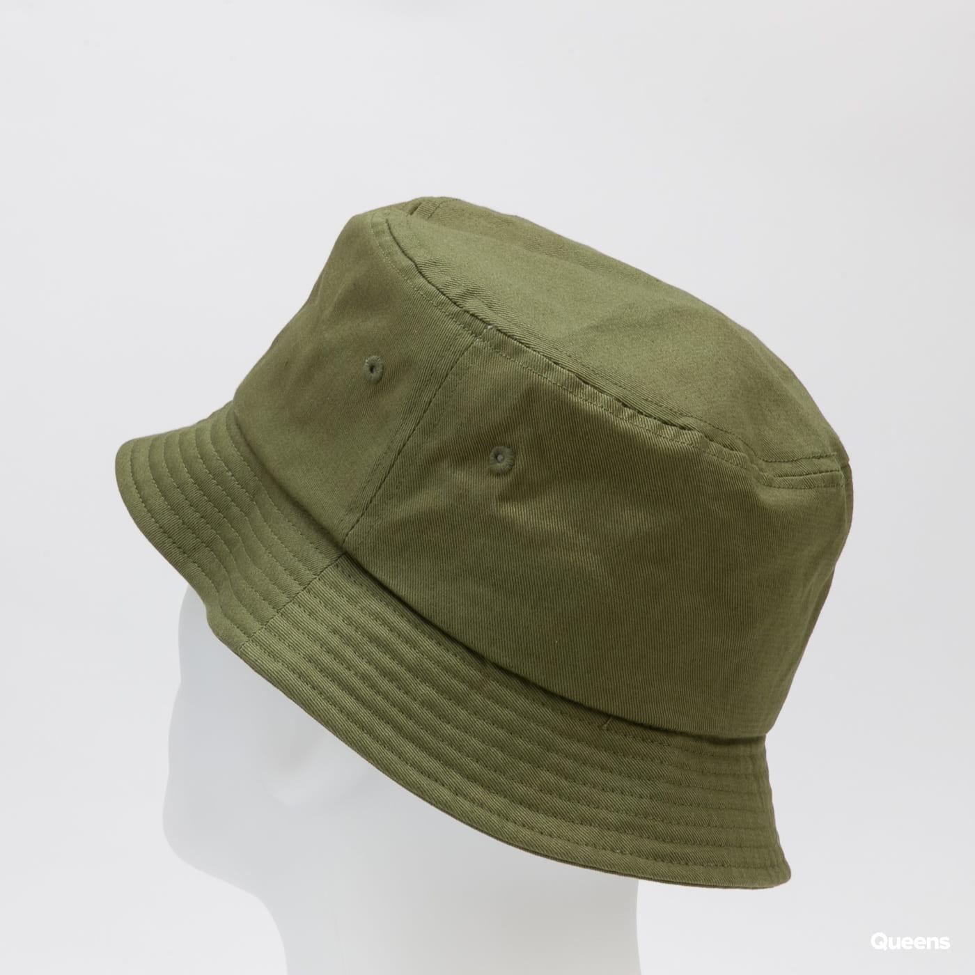 Stüssy Stock Bucket Hat dark olive