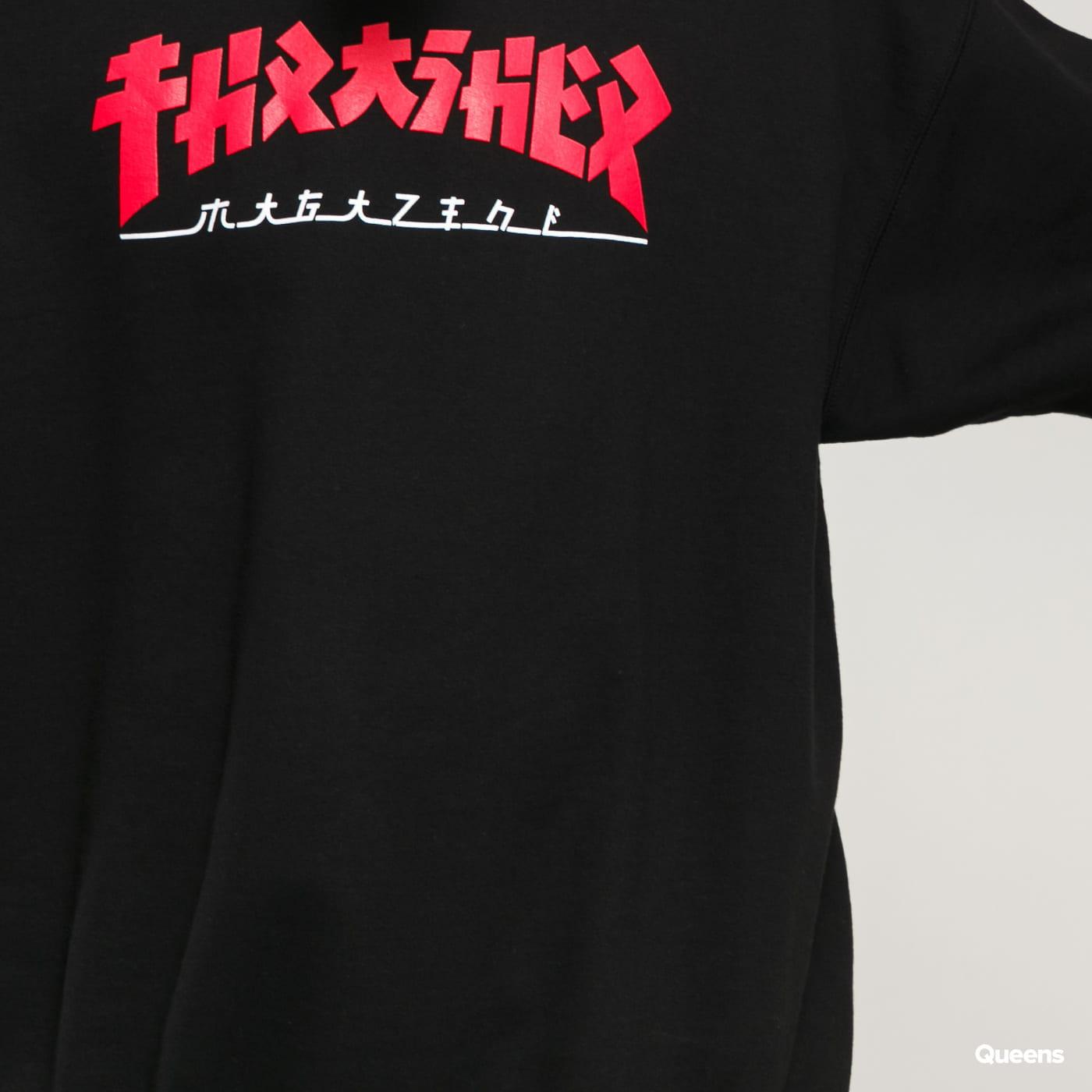 Thrasher Godzilla Crewneck black