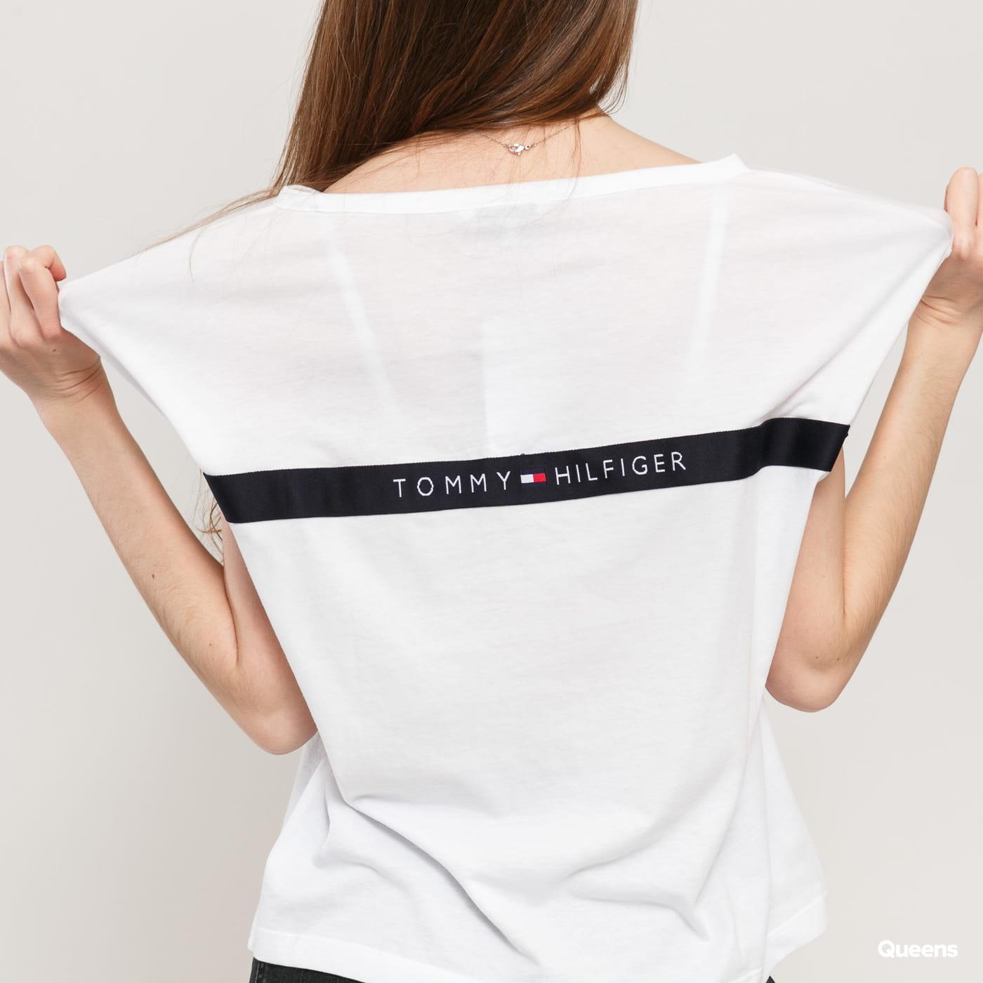 Tommy Hilfiger Back Logo T-shirt blau / türkis