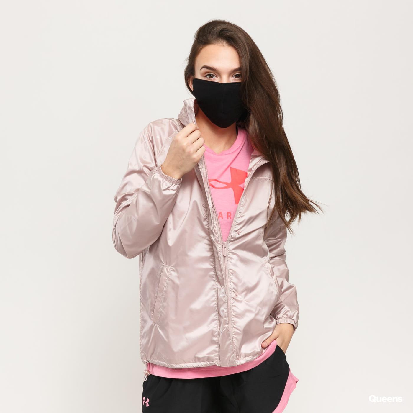 Under Armour Athlete Recovery Woven Iridescent Jacket svetlofialová