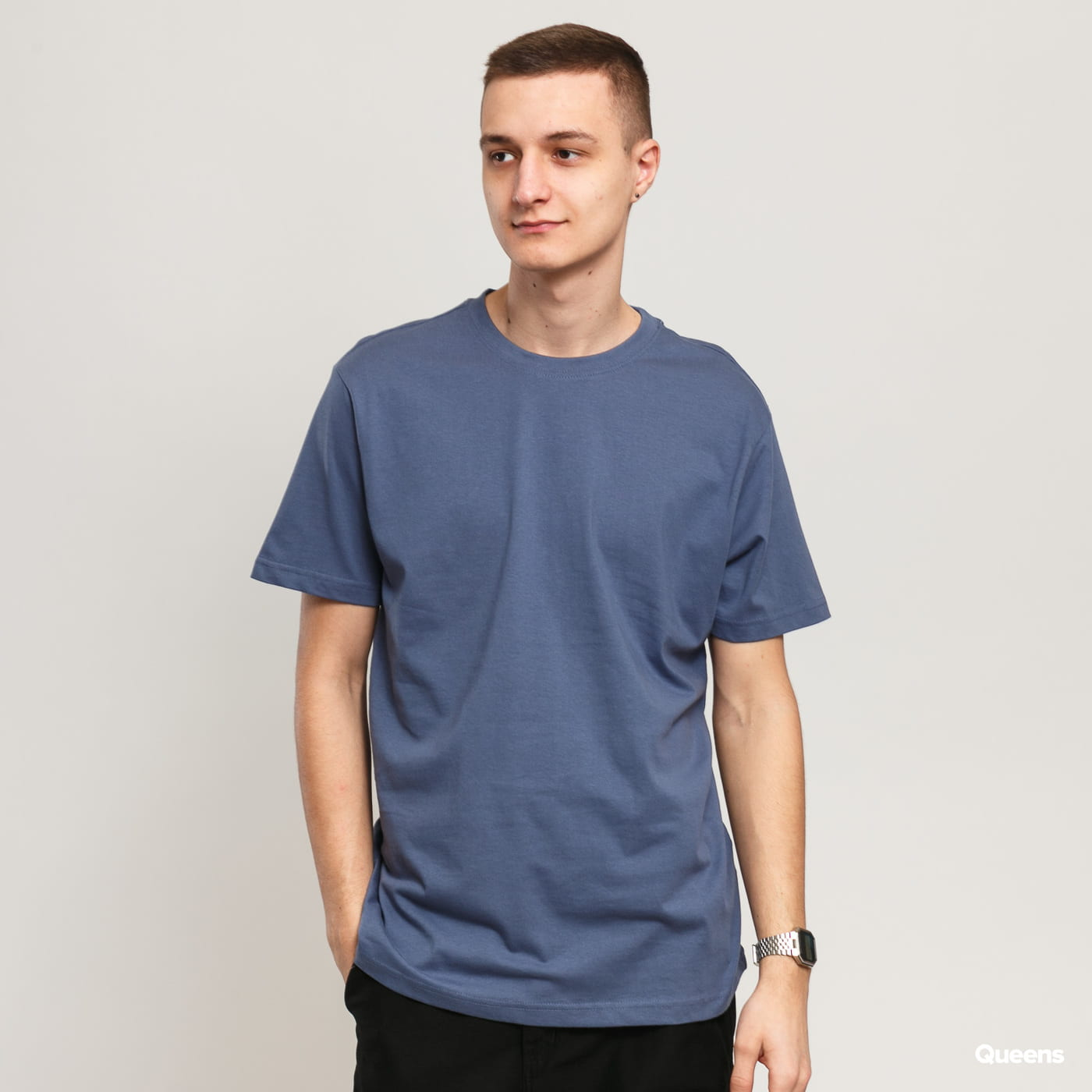 Urban Classics Basic Tee blau