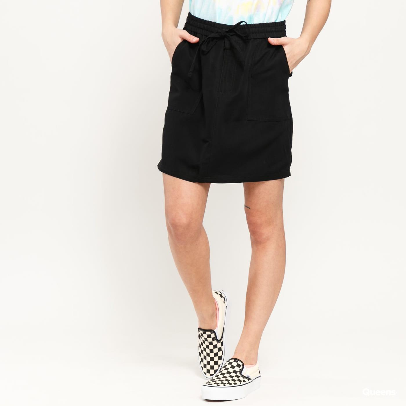 Urban Classics Ladies Viscose Twill Skirt black