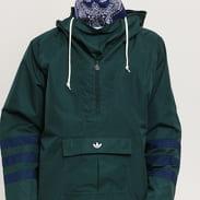 adidas Originals Anorak tmavě zelená