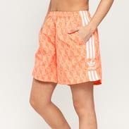 adidas Originals Shorts oranžové / růžové
