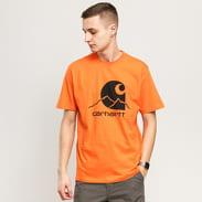 Carhartt WIP Outdoor C Tee oranžové