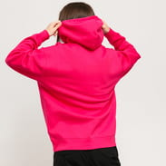 Carhartt WIP W Hooded Carhartt Sweat tmavě růžová