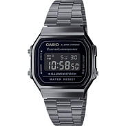 Casio A 168WEGG-1BEF šedé / černé