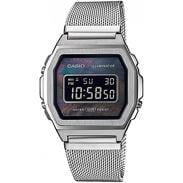 Casio A100M-1BEF silver
