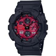 "Casio G-Shock GA 140AR-1AER ""Adrenalin Red Series"" black"