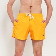 Champion Logo Beach Shorts oranžové