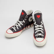Converse Chuck 70 Hi thunder grey / university red