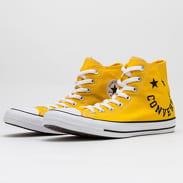 Converse Chuck Taylor All Star Hi amarillo / black / white
