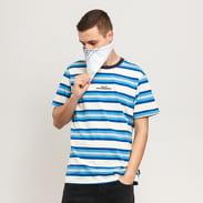 HUF Travis Knit Top krémové / modré