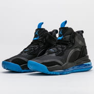 Jordan Aerospace 720 black / blue fury - reflect silver