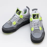Nike Air Jordan 4 Retro SE (GS) cool grey / volt - volt - grey