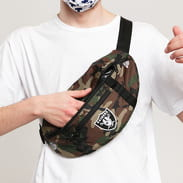 New Era NFL Light Waist Bag Raiders camo zelená