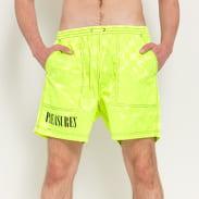 PLEASURES BPM Shorts neon zelené