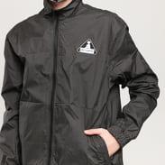 PLEASURES Brick Tech Track Jacket černá / bílá