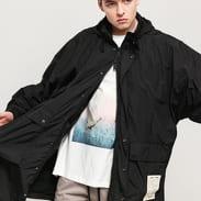 PREACH Hooded Raincoat černá