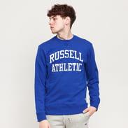 RUSSELL ATHLETIC Arch Logo Crew modrá