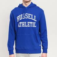 RUSSELL ATHLETIC Arch Logo Hoody modrá