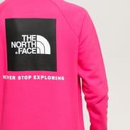 The North Face M Raglan Redbox Crew růžová