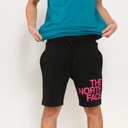The North Face M SS Graphic Short černé / růžové