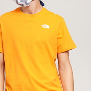 The North Face M SS Red Box Tee oranžové