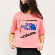 The North Face W SS Extreme Crop Tee růžové