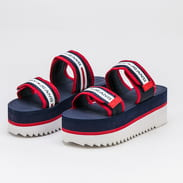 TOMMY JEANS Chunky Tape Platform Sandal twilight navy