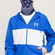 Under Armour Sporstyle Wind Jacket modrá / bílá