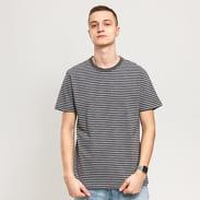 Urban Classics Basic Stripe Tee tmavošedé / biele