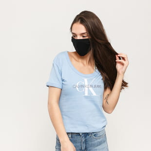 CALVIN KLEIN JEANS W Vegetable Dye Monogram Tee