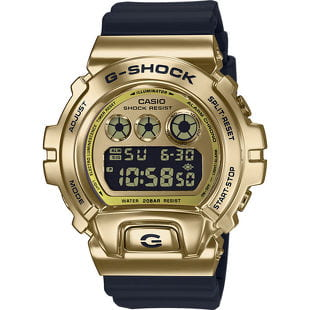 "Casio G-Shock GM 6900G-9ER Metal Covered ""25th Anniversary Edition"""