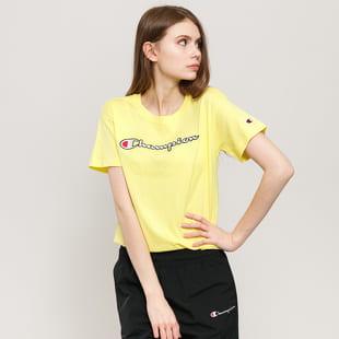 Champion Vintage Script Logo Crew Neck T-Shirt
