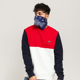 LACOSTE Colorblock Crewneck