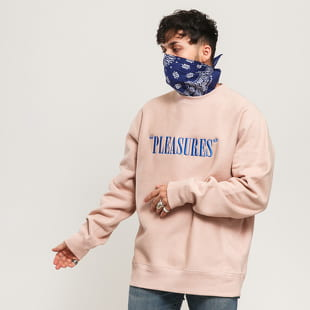 PLEASURES Balance Embroidered Premium Crewneck