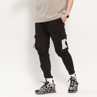PREACH Black Cotton Cargo Pants