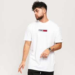 TOMMY JEANS M Embroidered Box Logo Tee