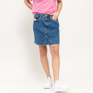 TOMMY JEANS W Short Denim Skirt